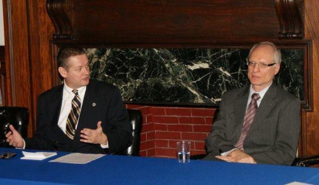 Prof. Marek Chodakiewicz  and Prof. Casmir Dadak